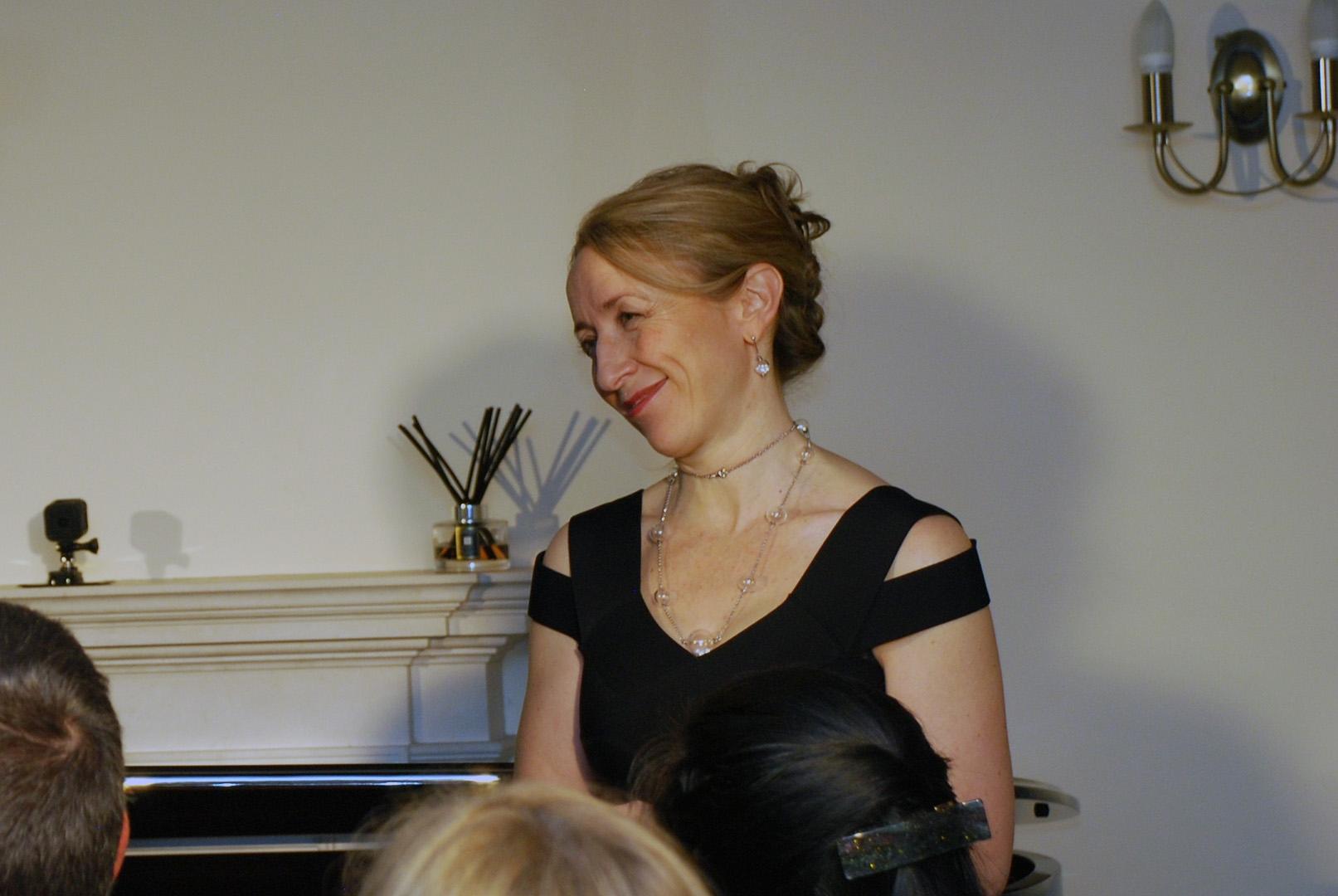 Alison Rhind, piano accompanist