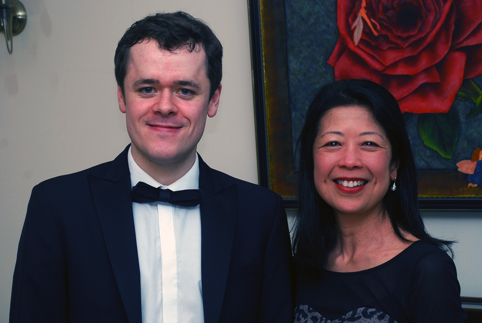 Kumi with Benjamin Grosvenor at Breinton