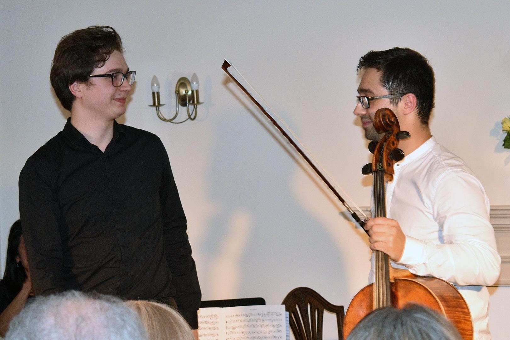 Michael Petrov & Erdem Mısırlıoğlu at Breinton