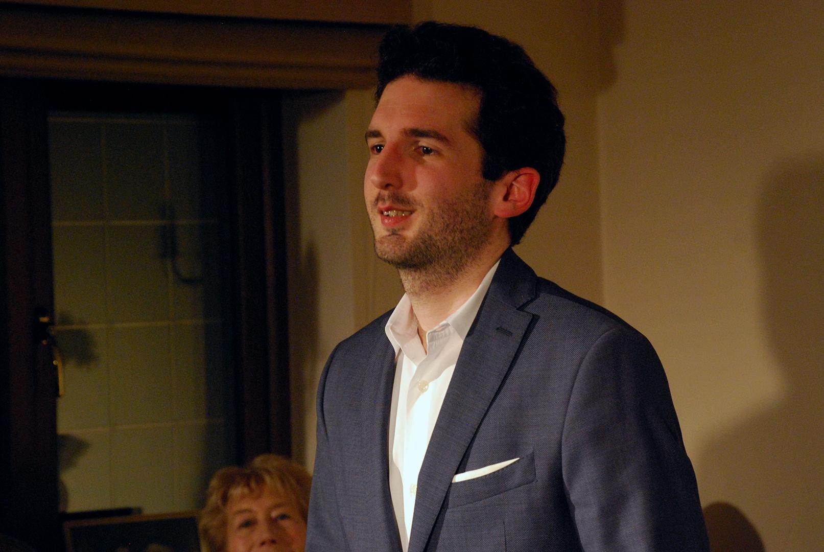 Emmanuel Despax at Breinton