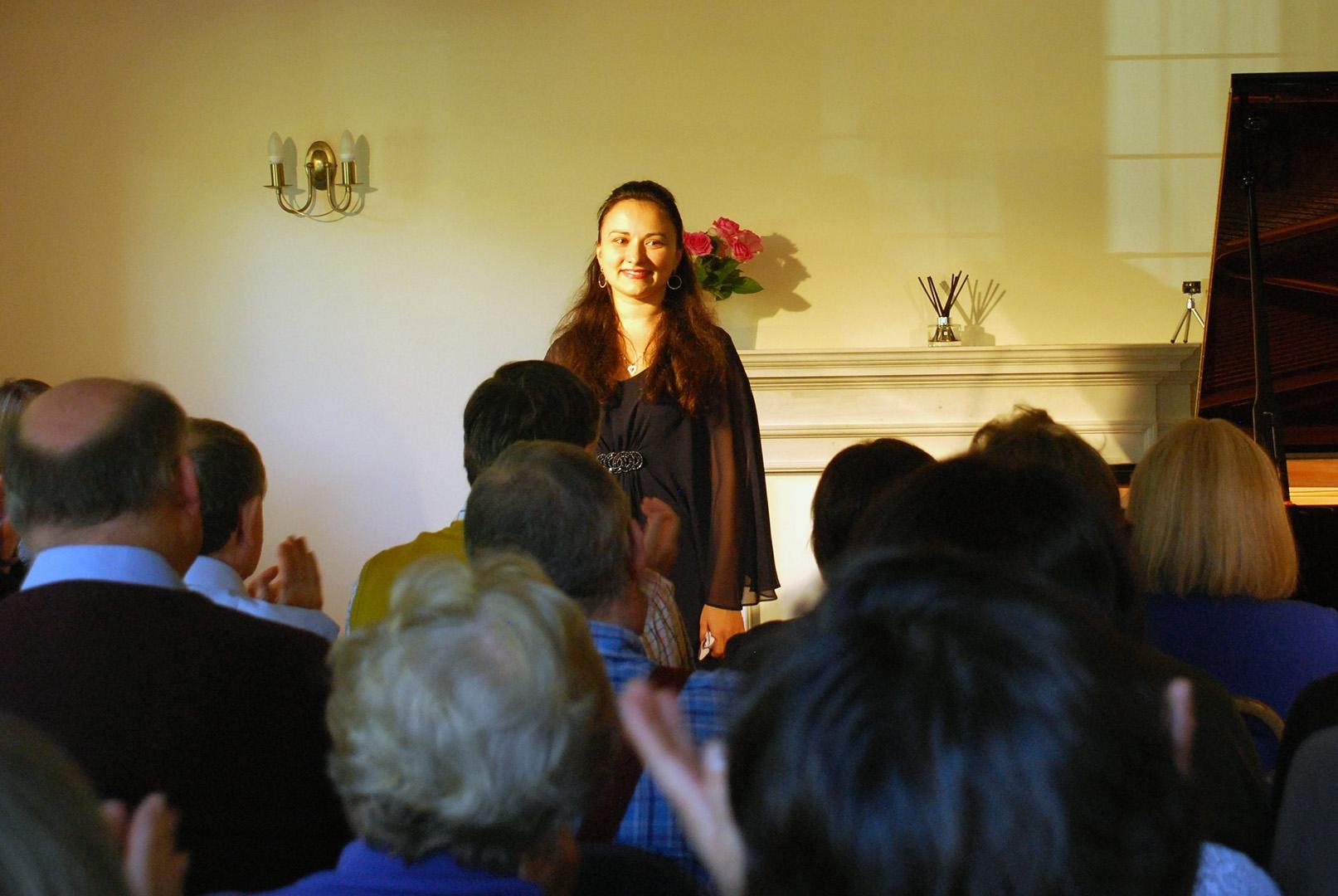 Dinara Klinton's matinee at Breinton on 13 October 2016
