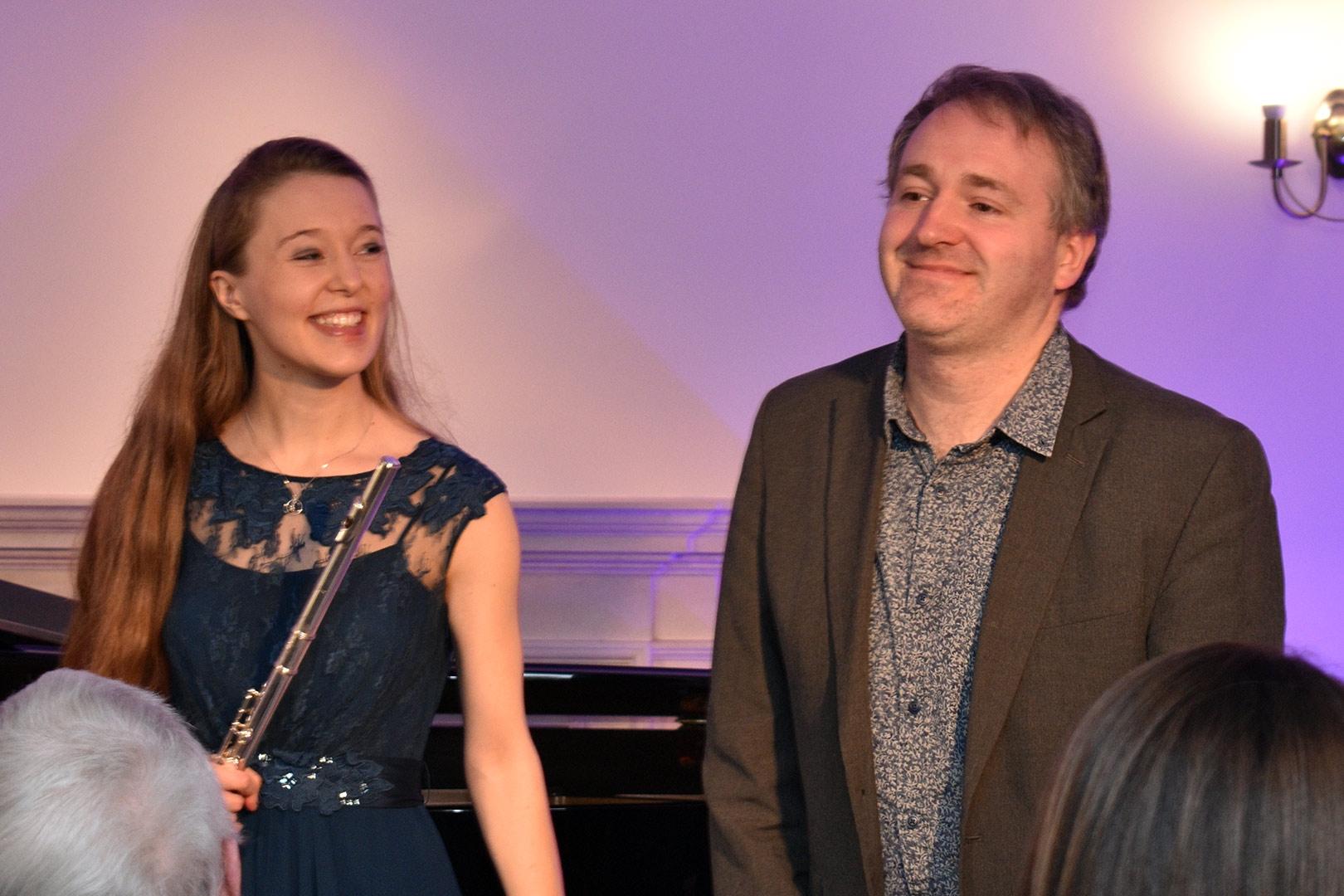Emma Halnan & Daniel King Smith at Breinton