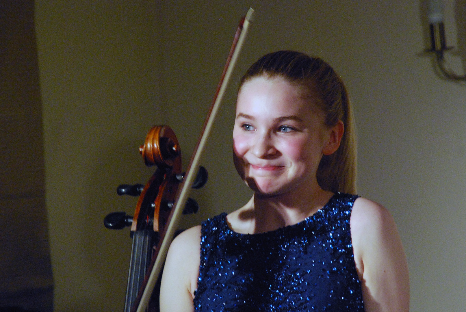 Sophie Kauer, cello