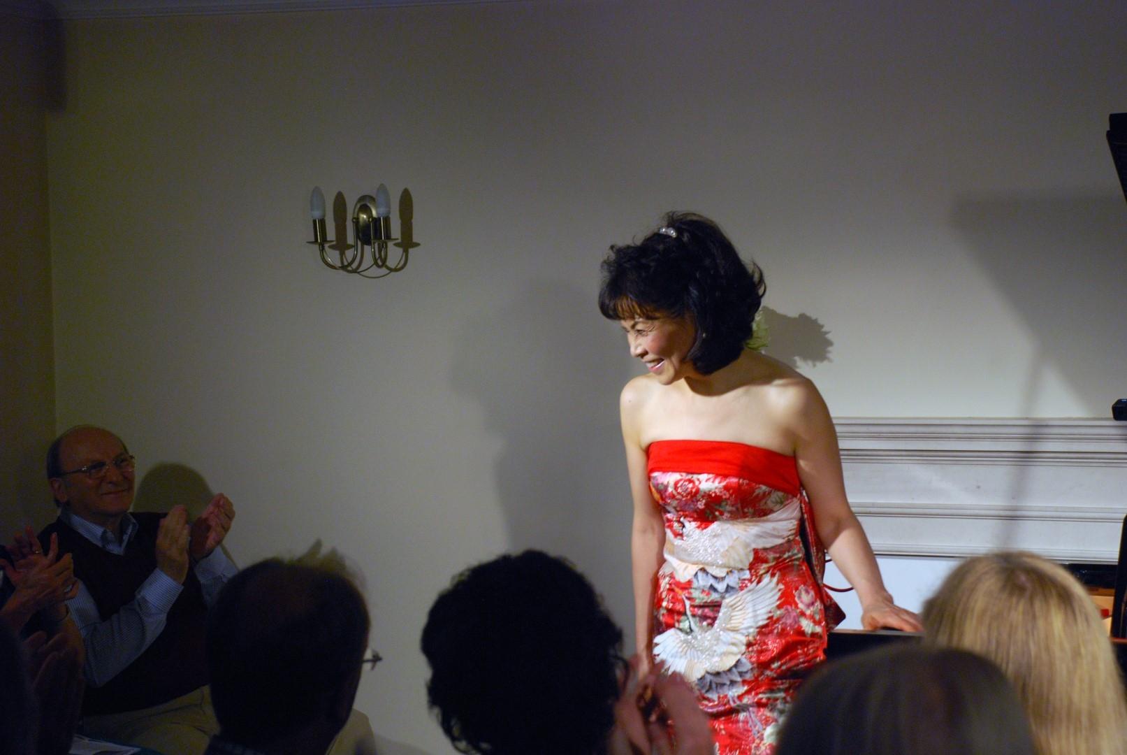Noriko Ogawa at Breinton on 1 October 2016