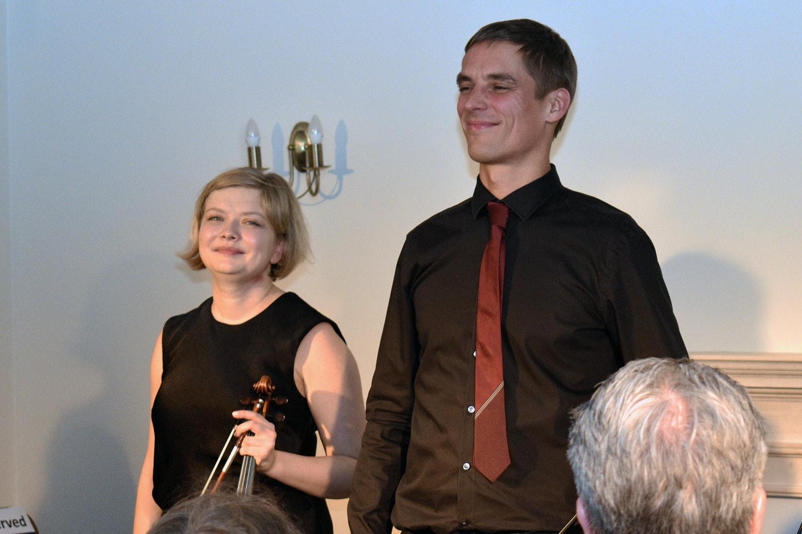Alina Ibragimova & Cedric Tiberghien at Breinton