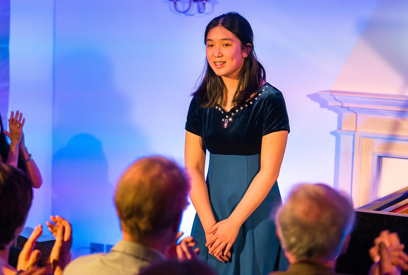 Pianist Lauren Zhang at Breinton