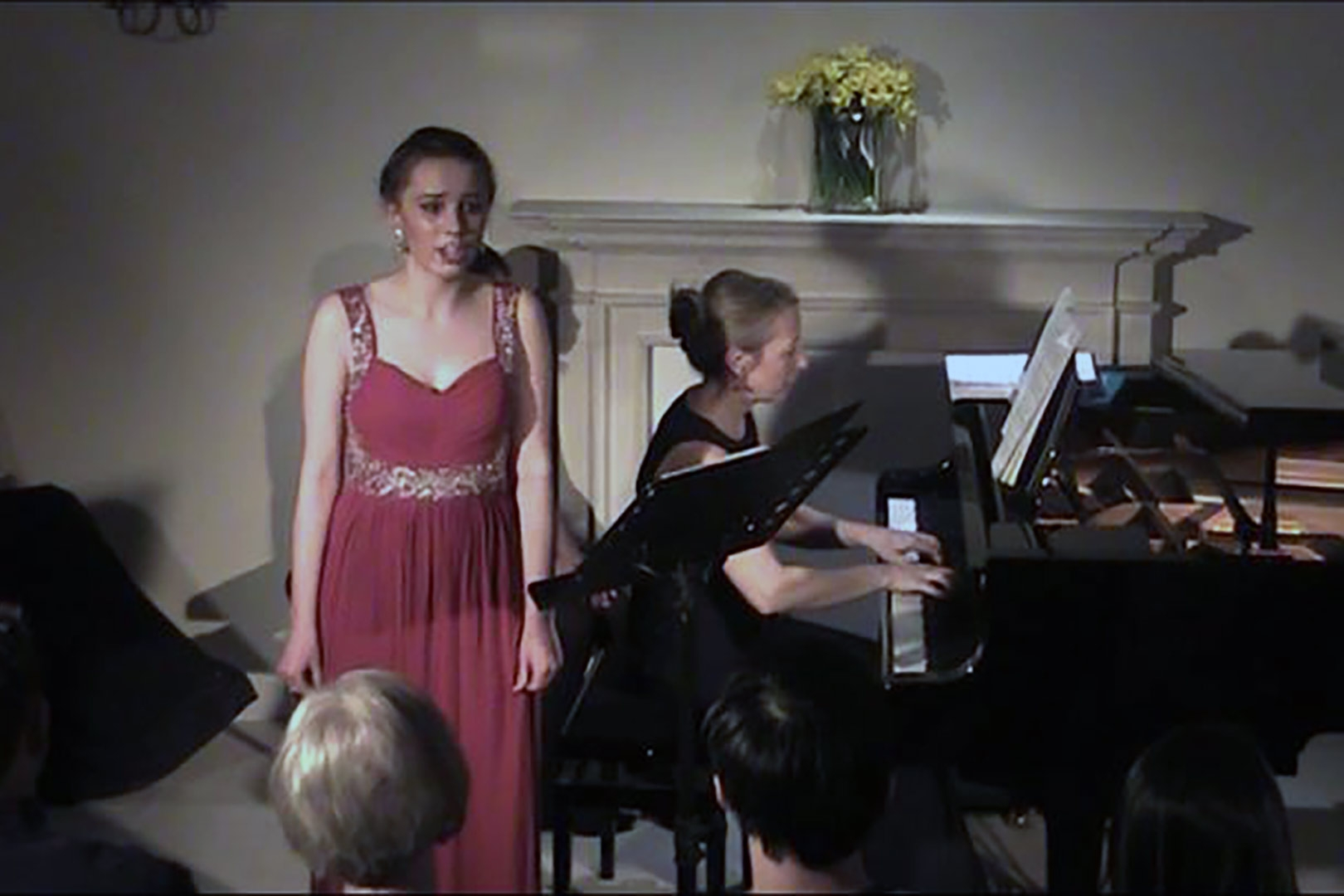 Hannah Dienes-Williams, soprano, at Breinton Young Performers