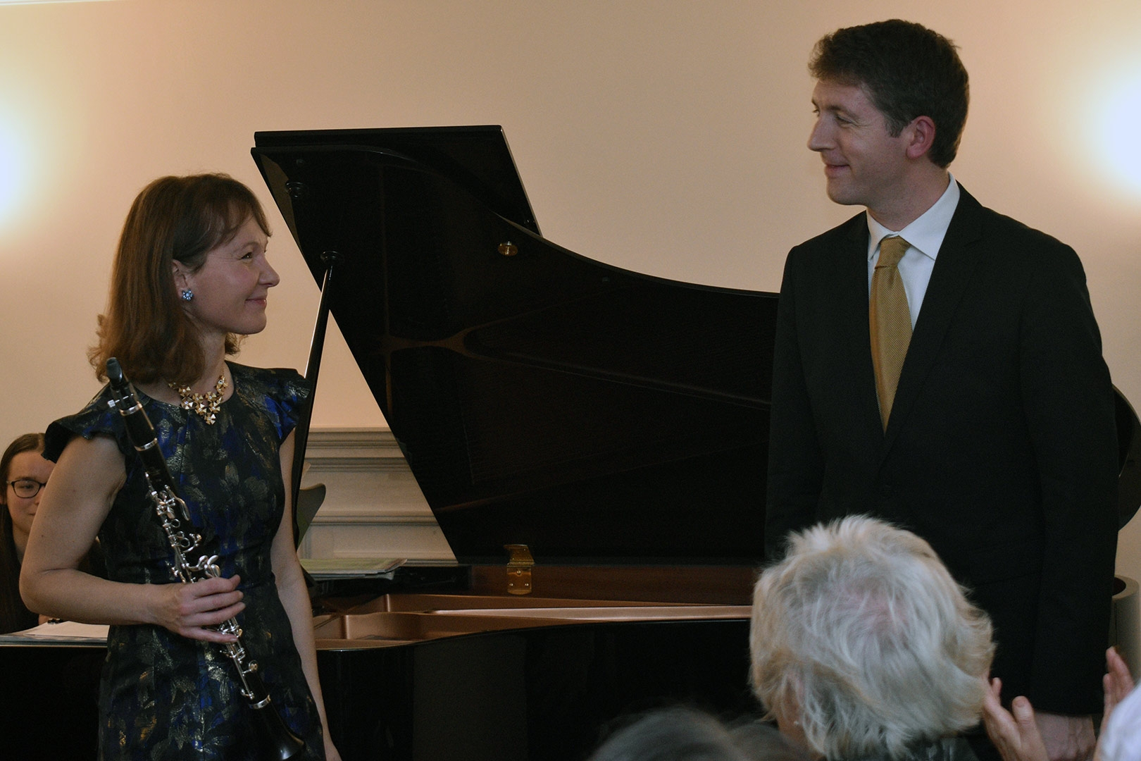 Emma Johnson & Finghin Collins at Breinton