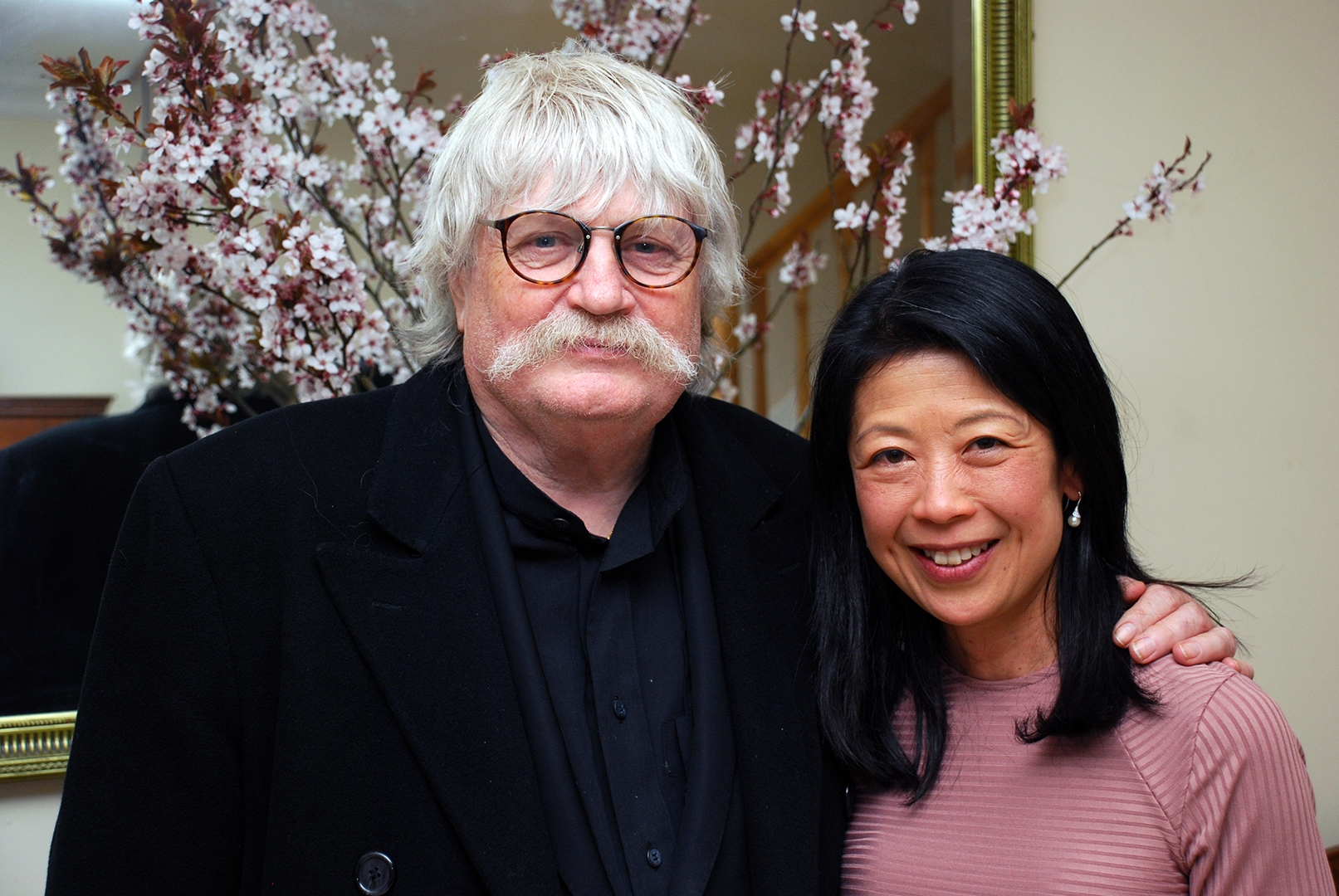 Kumi with Sir Karl Jenkins at Breinton on 25 March 2017