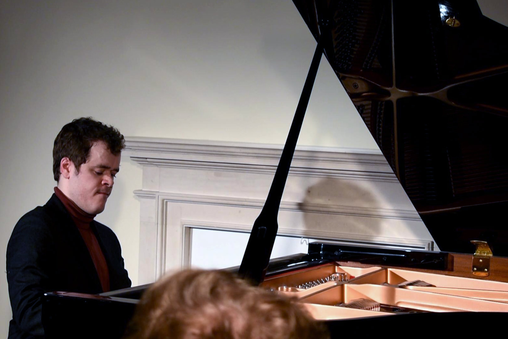 Benjamin Grosvenor at Breinton on Tuesday