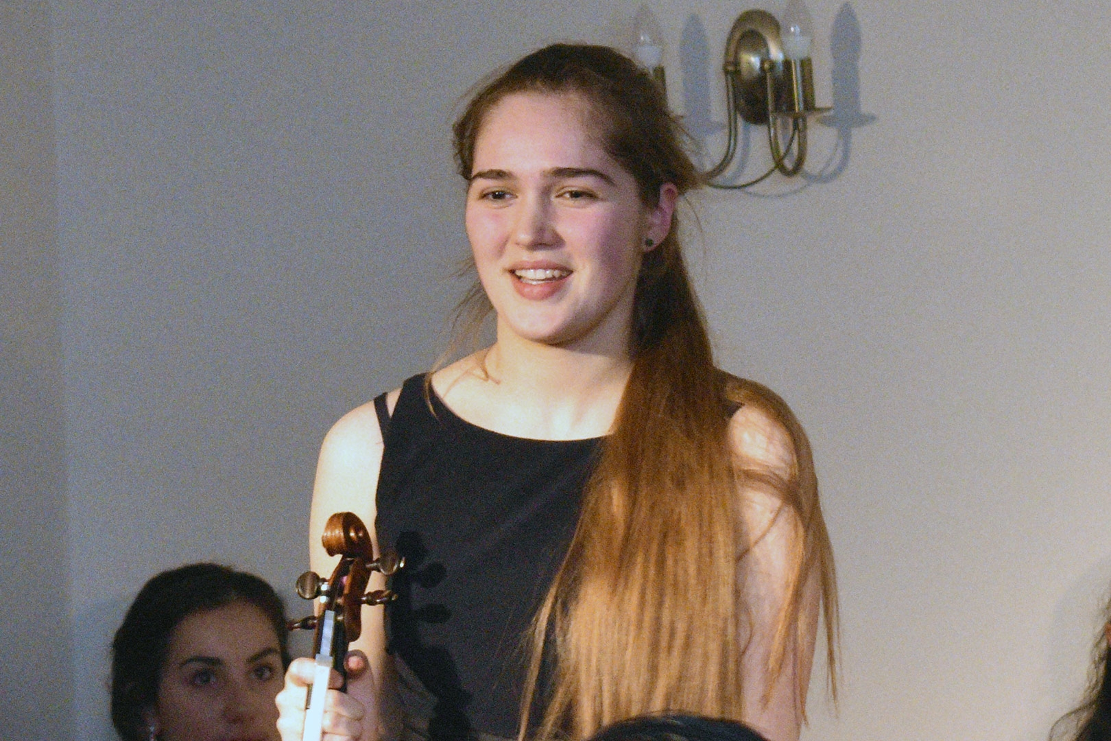 Amber Emson, violin, at Breinton Young Performers